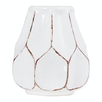 Kana Furniture Ceramic Vase D10x12 White