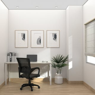Kana Furniture Kana White Lisbon Home Office