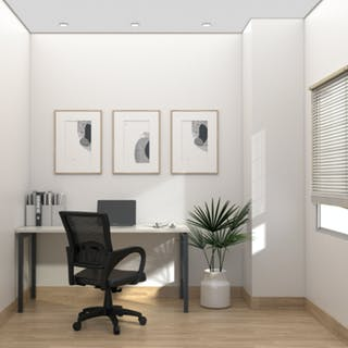 Kana Furniture Kana Black Lisbon Home Office