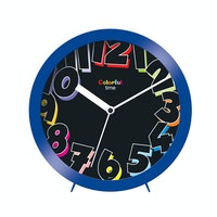 Ontime Colorfull Time Wall & Table Clock Blue 2017-7 CT