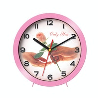 "Ontime Wall & Table Clock 2017 ""Only You"" Love Series V14"