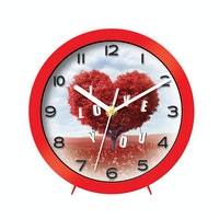 "Ontime Wall & Table Clock 2017 ""I Love You"" Love Series V15"
