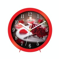 "Ontime Wall & Table Clock 2017 ""Especially You"" Love Series V21"