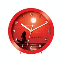 "Ontime Wall & Table Clock 2017 Love Series ""Be My Love"" V10"