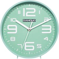 Diamond Diamond Wall & Table Clock Soft Turquoise 2019-1