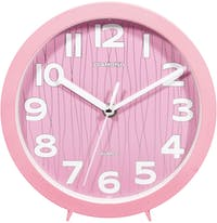 Diamond Diamond Wall & Table Clock 2017-3 Soft Pink