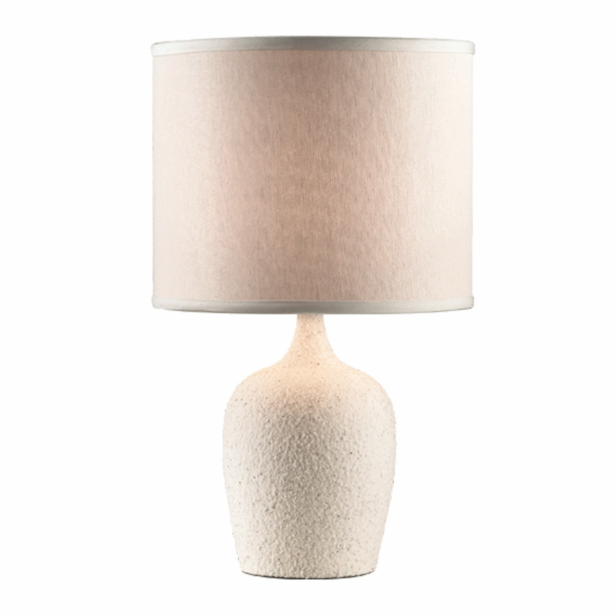 3+PROJECTS Lampu Meja Table Lamp Beige Fabric Shade 3+DL-PD7141-BE-VG