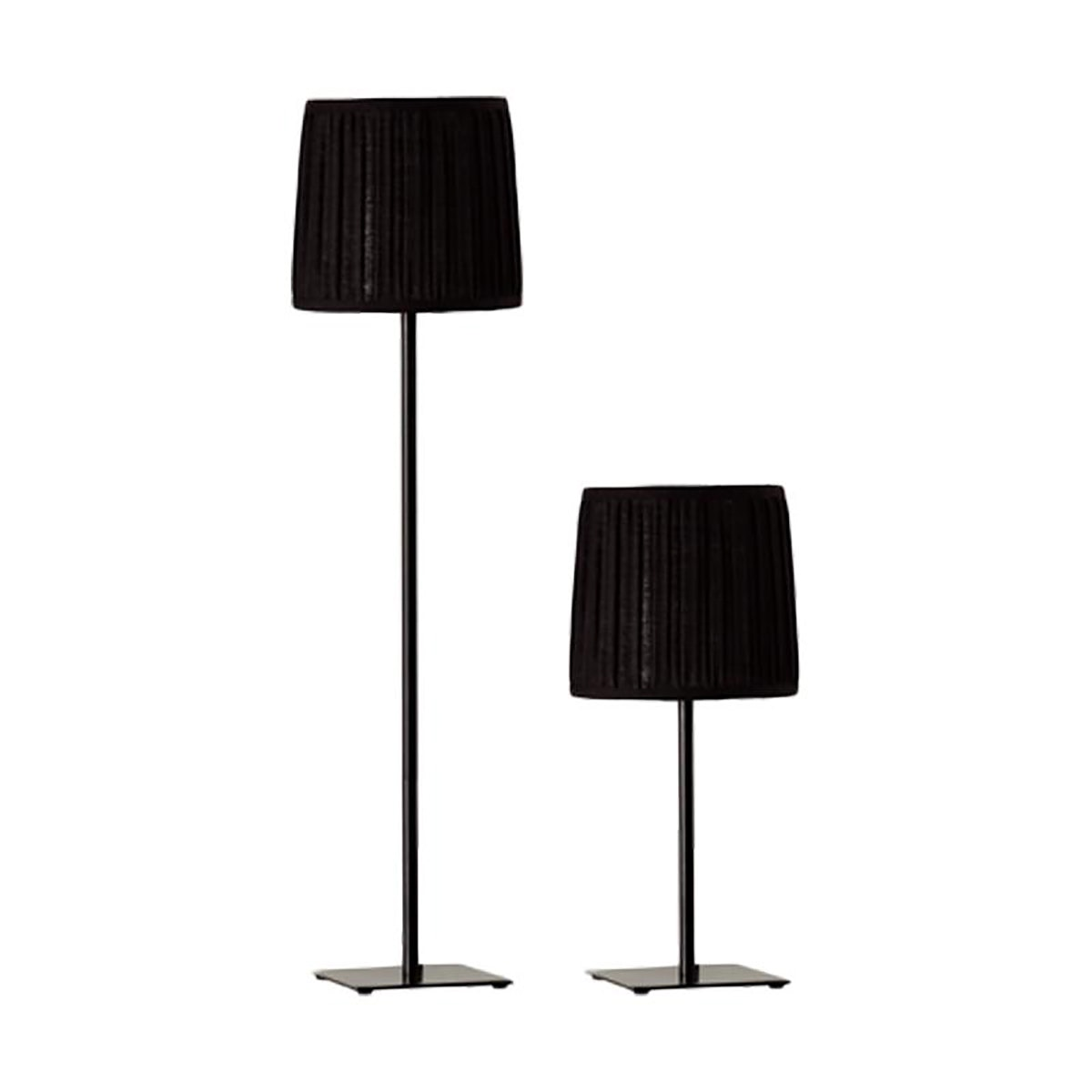 3+PROJECTS Combo Set (1 Table Lamp + 1 Floor Lamp) Black 3+DL-1276-BL-VG