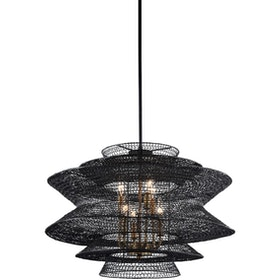 3+Projects Lampu Gantung/Pendant Lamp Steel Dark Brown 3+Mph18078-6