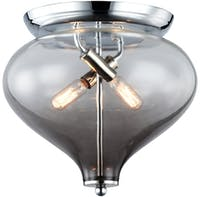 3+Projects Lampu Plafon / Ceiling Lamp Steel+Glass Polished Chrome 3+Mpc18079-2