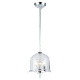 3+Projects Lampu Gantung/Pendant Lamp Steel+Glass Polished Chrom 3+Mph18079-3C