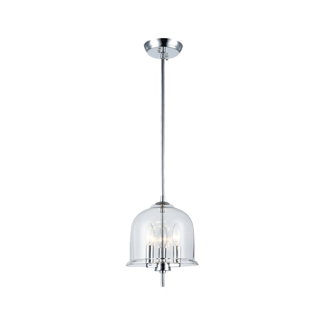 3+Projects Lampu Gantung / Pendant Lamp Steel+Glass Polished Chrom 3+Mph18079-3C