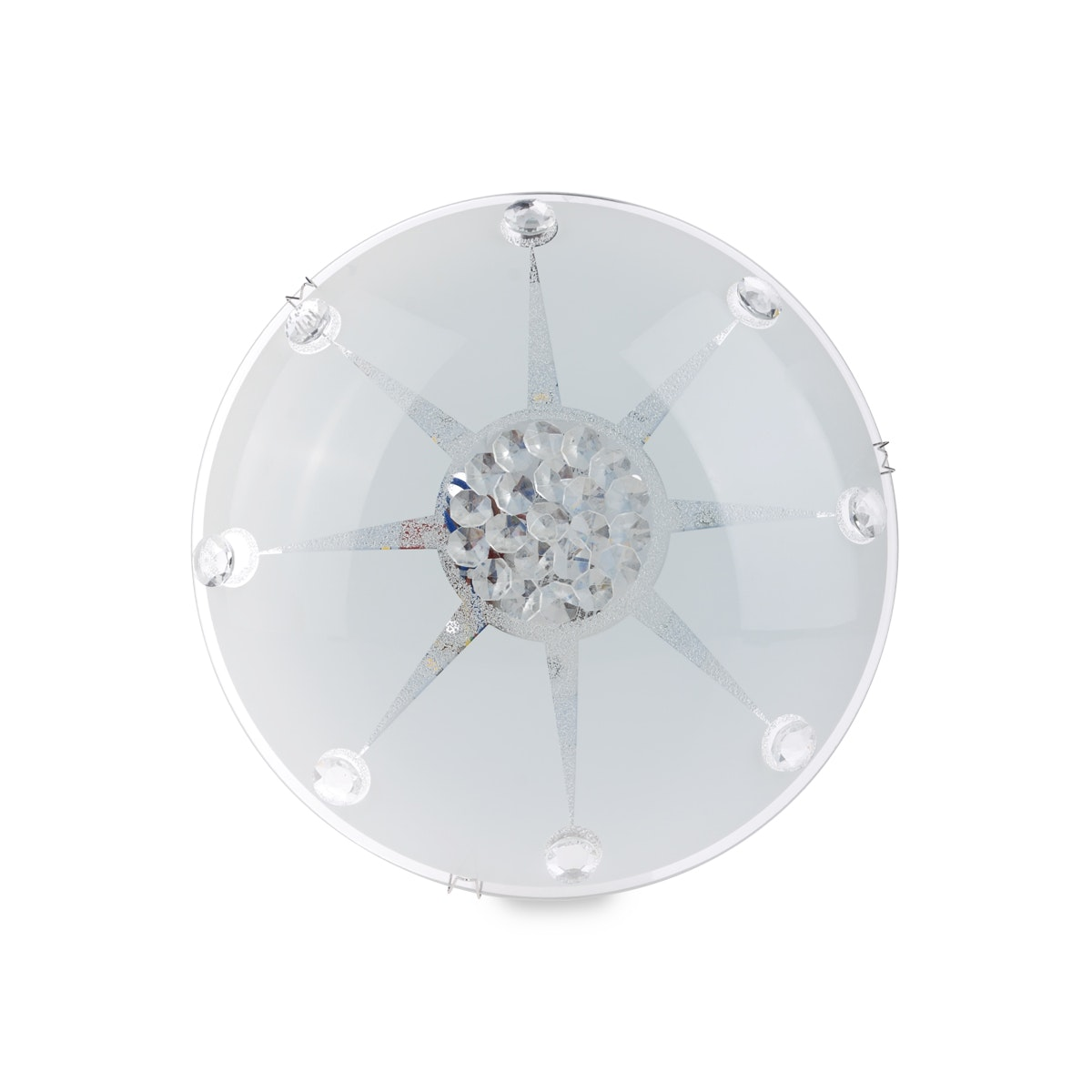 3+Projects Lampu Plafon/Ceiling Lamp Metal Base Crystal Beads 3+DL-C98006-8W-DY