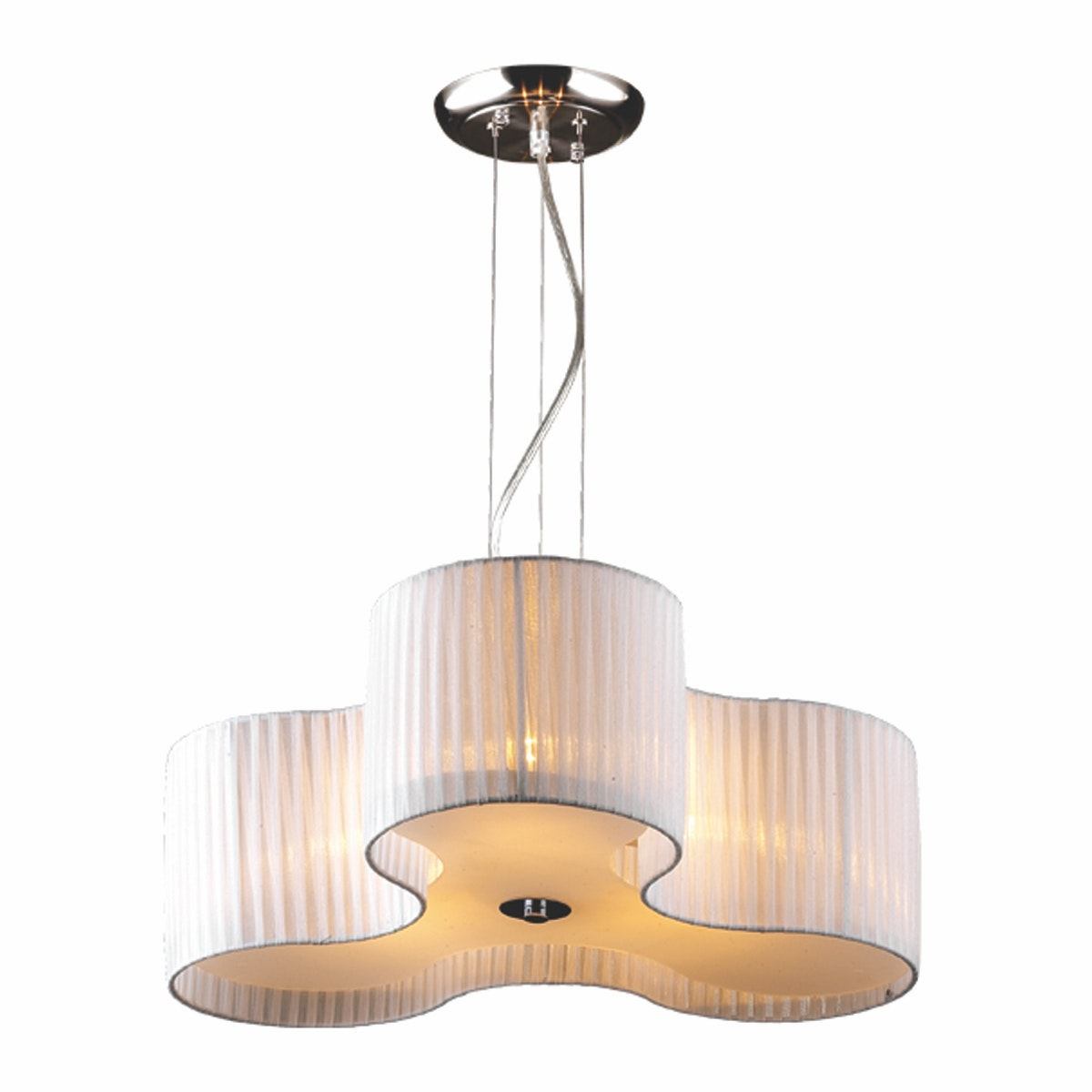 3+PROJECTS Lampu Gantung Pendant Lamp White Guaze 3+DL-SD1103-BE-VG