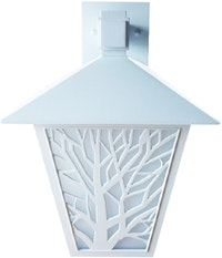 3+Projects Wall Lamp Outdoor Classical/Lampu Dinding Outdoor 3+FR146102-WH