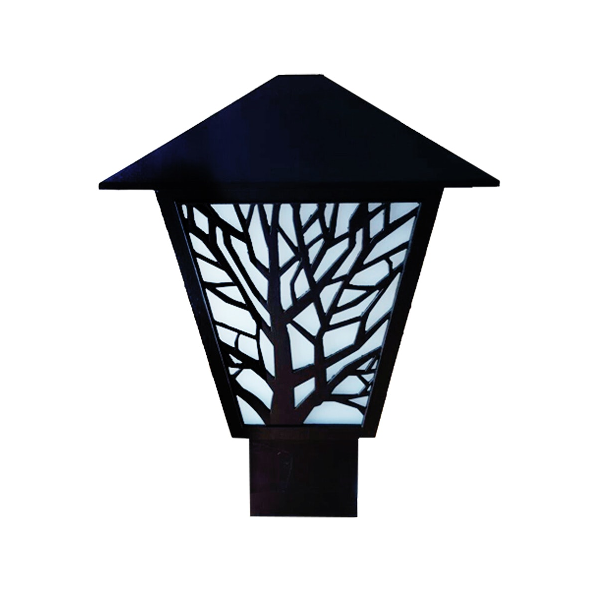 3+Projects Lawn Gate Lamp / Outdoor Lamp / Garden Lamp 3+FR146104-BL
