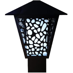 3+Projects Lawn Gate Lamp/Outdoor Lamp/Lampu Taman/Garden 3+FR147104A-BL