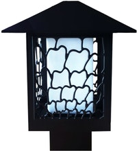 3+Projects Lawn Gate lamp/Lampu Taman/Outdoor Lamp/Garden 3+FR8702A-BL