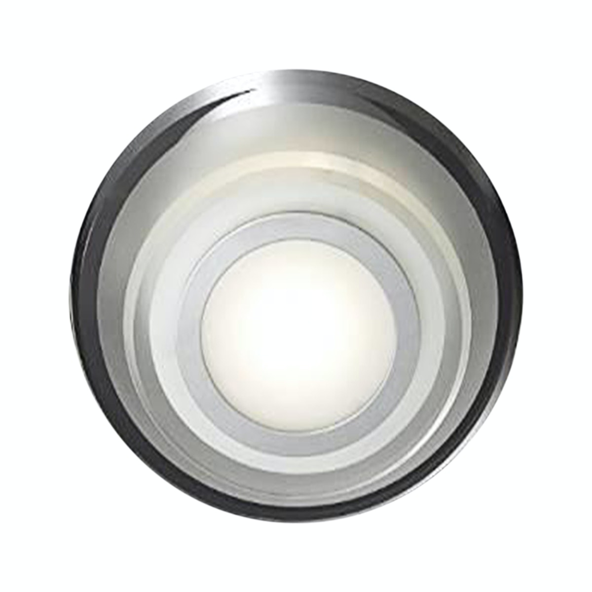 3+Projects Lampu Plafon/Ceiling Lamp Metal Base White Glass 3+DL-C29375Y-2P-DY