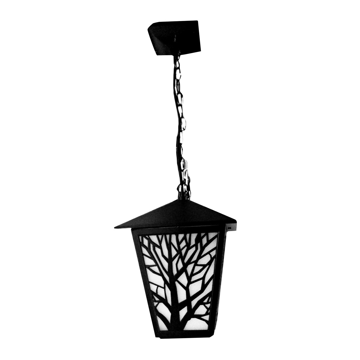 3+Projects Pendant Lamp Black E27 socket, Glass/PC diffuser,aluminium material, IP44 226*657 MAX 40W,CFL
