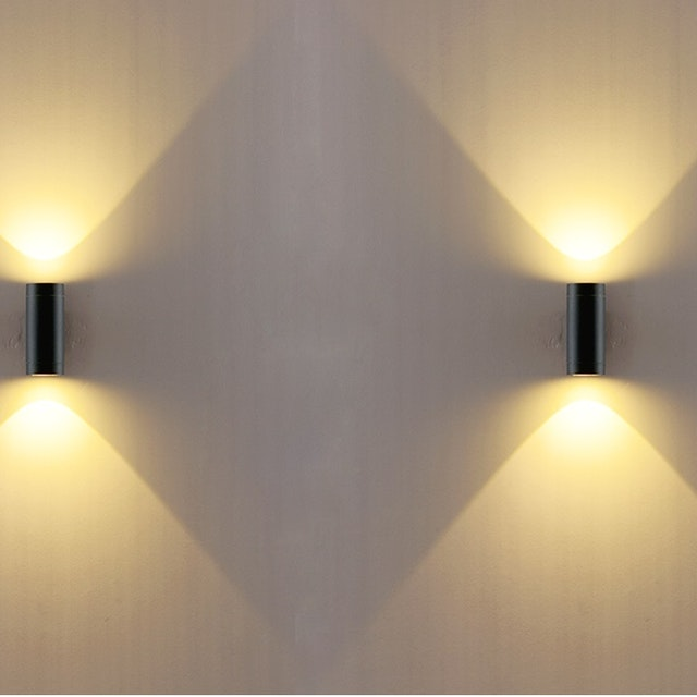 3+Projects Lampu Dinding/Wall Lamp Outdoor 3+DX2612-GU10-BL