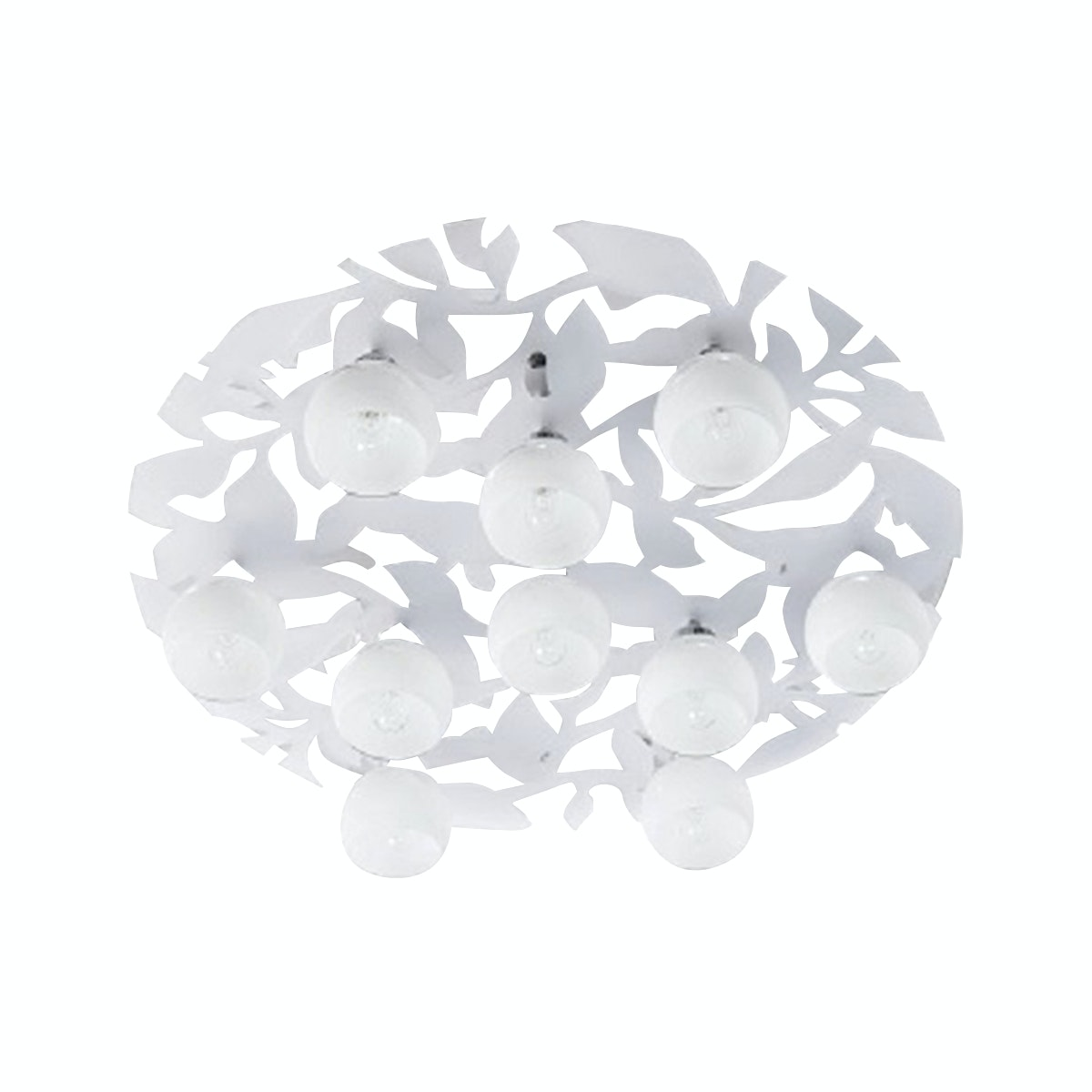 3+Projects Modern Ceiling Chandelier Crystal Chrome Colour with LED Backlight