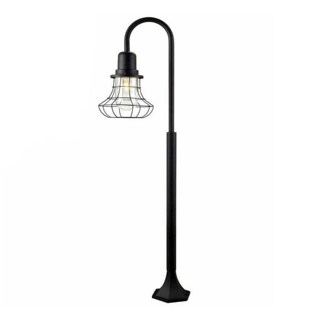 3+Projects Post Lamp Classic Style Black