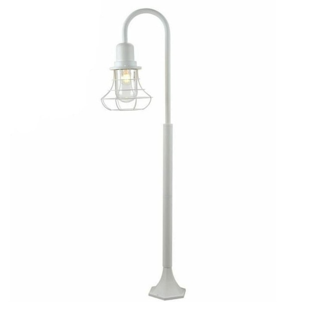 3+Projects Post Lamp Classic Style White