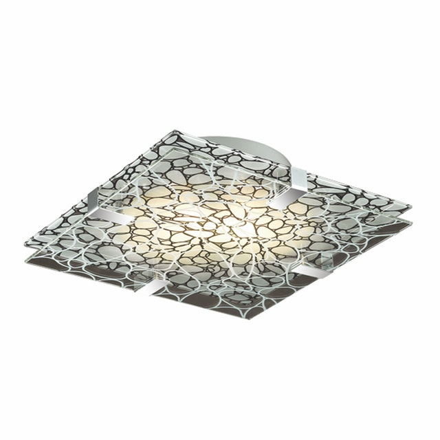 3+Projects Lampu Plafon / Ceiling Lamp Double Glass 3+DL-STONE-SU31-AH