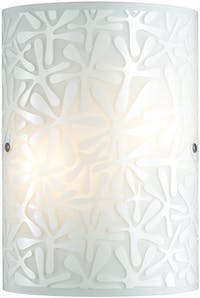 3+Projects Lampu Dinding/Wall Lamp White Glass 3+DL-WL1206-DA-AH