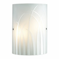 3+Projects Lampu Dinding/Wall Lamp White Glass 3+DL-WL1206-GA-AH