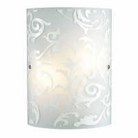 3+Projects Lampu Dinding / Wall Lamp White Rococo 3+DL-WL1206-RC-AH