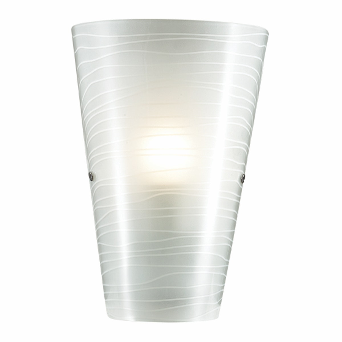 3+Projects Lampu Dinding / Wall Lamp White Silkscreen Outside 3+DL-WL255-WH-AH