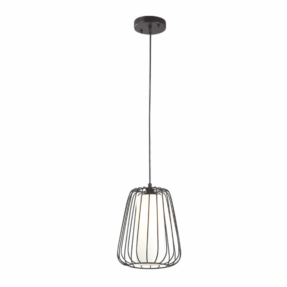 3+Projects Lampu Gantung Pendant Lamp Steel and Glass Black 3+DL-P2658S-BL-AH