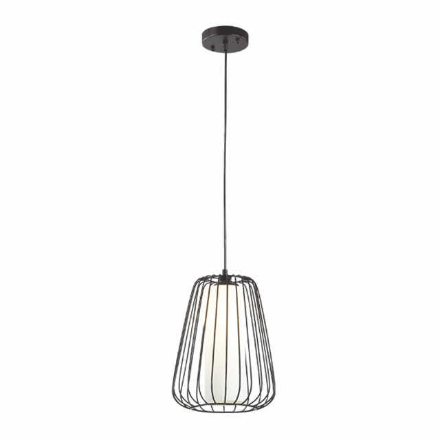 3+Projects Lampu Gantung Pendant Lamp Steel and Glass Black 3+DL-P2658L-BL-AH
