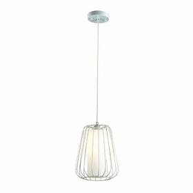 3+Projects Lampu Gantung Pendant Lamp Steel and Glass White 3+DL-P2658S-WH-AH