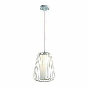 3+Projects Lampu Gantung Pendant Lamp Steel and Glass White 3+DL-P2658L-WH-AH