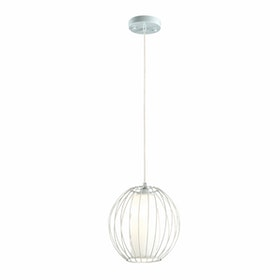 3+Projects Lampu Gantung Pendant Lamp Steel and Glass White 3+DL-P2659S-WH-AH