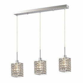 3+Projects Lampu Gantung Crystal Pendant 3+DL-P8184/3L-AH