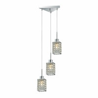 3+Projects Lampu Gantung Crystal Pendant 3+DL-P8184/3T-AH