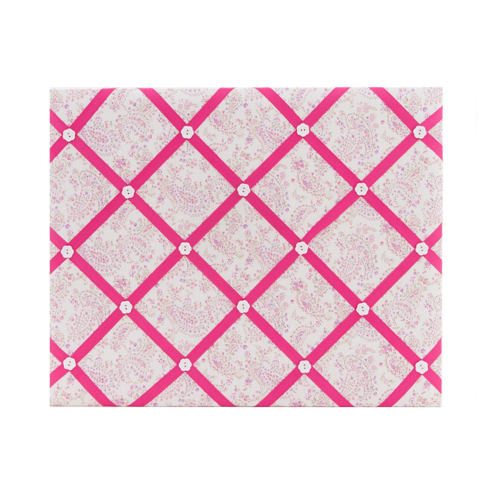 The Storage Shoppe Ribbon Board Pink