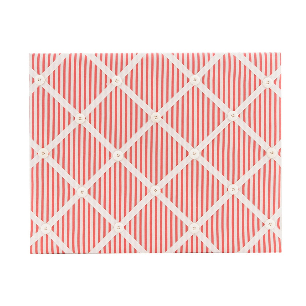 The Storage Shoppe Ribbon Board Red