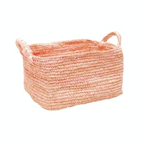 The Storage Shoppe Rope Rectangle S Pink