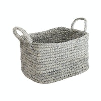 The Storage Shoppe Rope Rectangle L Grey
