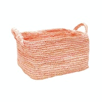 The Storage Shoppe Rope Rectangle L Pink