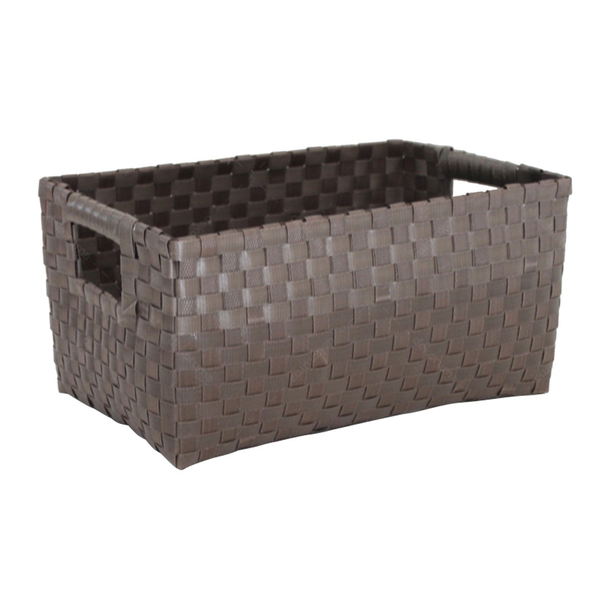 The Storage Shoppe Plastic Rectangle S Brown