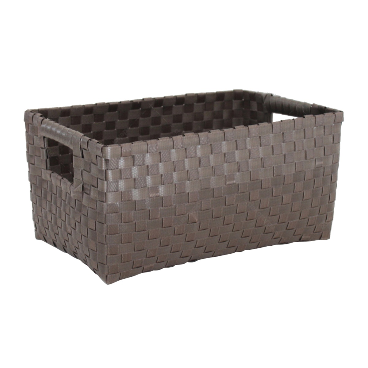The Storage Shoppe Plastic Rectangle M Brown