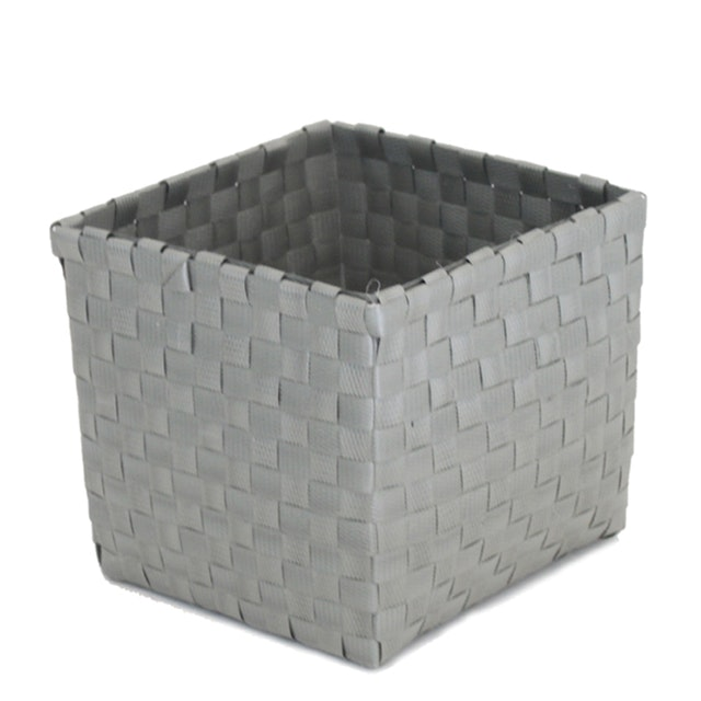 The Storage Shoppe Keranjang Plastic Gaby L Grey