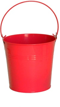 The Storage Shoppe Tin Can L Red