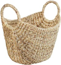 The Storage Shoppe WH Floor Basket Small Natural